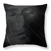 John Lennon 2 Throw Pillow