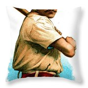 John M Ward Throw Pillow by Unknown