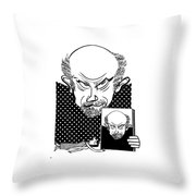 John Malkovich Throw Pillow