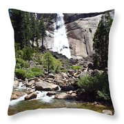 John Muir Trail Throw Pillow