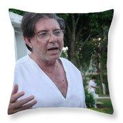 John Of God Throw Pillow