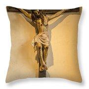 John Paul Jesus Throw Pillow