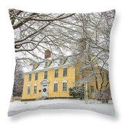 John Paul Jones House Throw Pillow