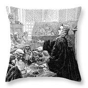 John Peter Zenger (1697-1746) Throw Pillow