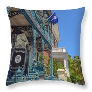 John Rutledge House Throw Pillow