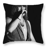 John Schlitt 11 Throw Pillow