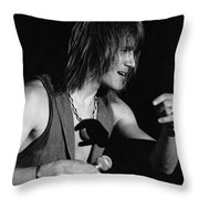 John Schlitt 15 Throw Pillow