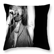 John Schlitt 18 Throw Pillow