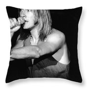 John Schlitt 19 Throw Pillow