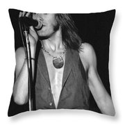 John Schlitt 20 Throw Pillow