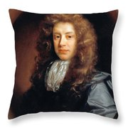 John Somers Baron Somers Throw Pillow