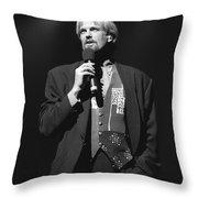 Musician John Tesh Throw Pillow