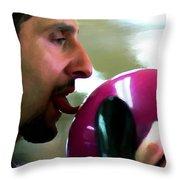 John Turturro @ The Big Lebowski Throw Pillow