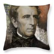 John Tyler Throw Pillow