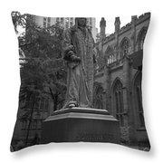 John Watts Bw Throw Pillow