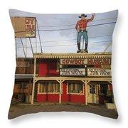 John Wayne Cowboy Museum Tombstone Arizona 2004 Throw Pillow