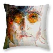 John Winston Lennon Throw Pillow