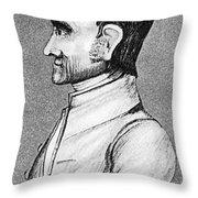 John Woolman (1720-1772) Throw Pillow