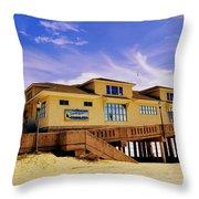 Johnnie Mercer Pier Throw Pillow