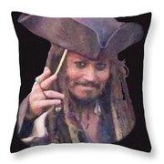 Johnny Depp Throw Pillow
