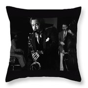 Johnny Griffin 3 Throw Pillow