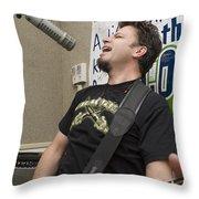 Johnny Hickman Of Cracker Throw Pillow