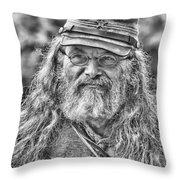Johnny Reb Throw Pillow