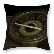 Johnnys 1941 Harley Davidson Throw Pillow