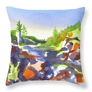 Johnsons Shut Ins Throw Pillow