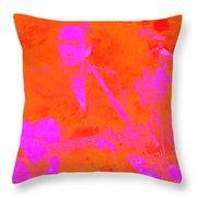 Johny Cash 3 Throw Pillow