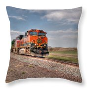 Joint Line Mixed Throw Pillow