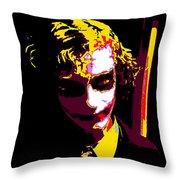 Joker 10 Throw Pillow