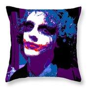 Joker 12 Throw Pillow