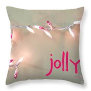 Jolly Throw Pillow