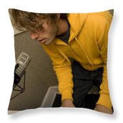 Jon Mclaughlin Throw Pillow