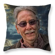 Jon Without An H Throw Pillow