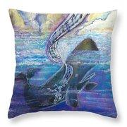 Jonah's Turning Point Throw Pillow
