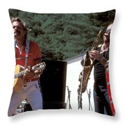 Jonathan Edwards Throw Pillow