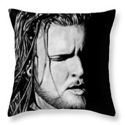 Jonathan Jefferson Throw Pillow