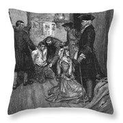Jonathan Wild (c1682-1725) Throw Pillow