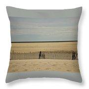 Jones Beach Throw Pillow