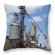 Jones Island 1 Throw Pillow