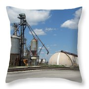 Jones Island 2 Throw Pillow