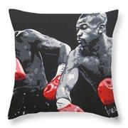 Jones Jr Vs Toney Throw Pillow