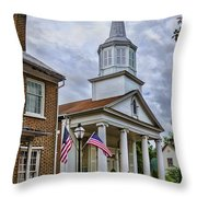 Jonesboro Methodist Church Throw Pillow