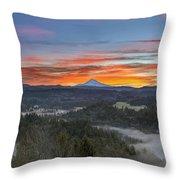 Jonsrud Viewpoint Sunrise Throw Pillow