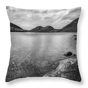 Jordan Pond Acadia National Park Maine. Throw Pillow