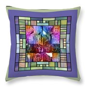 Jornada Mogollon Kaleidoscope Throw Pillow