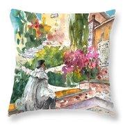 Jose Ledesma Criado In Salamanca Throw Pillow
