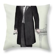 Joseph Chamberlain (1836-1914) Throw Pillow